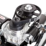 EOS engine with clutch